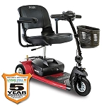 Pride Mobility GoGo Ultra X 3-Wheel Travel Scooter w/Avail Ext Warranty