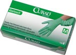 Curad Aloetouch powder-free latex exam gloves